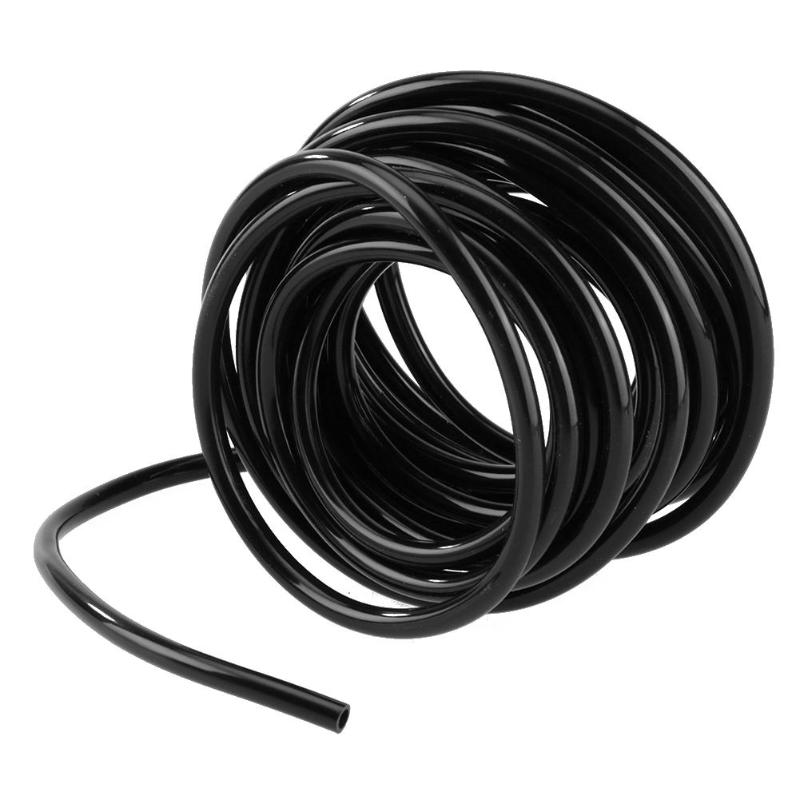 5/15/25M Micro Drip Irrigation Tube Hose PVC Pipe Water Hose for Garden Plants Flower Wa ...