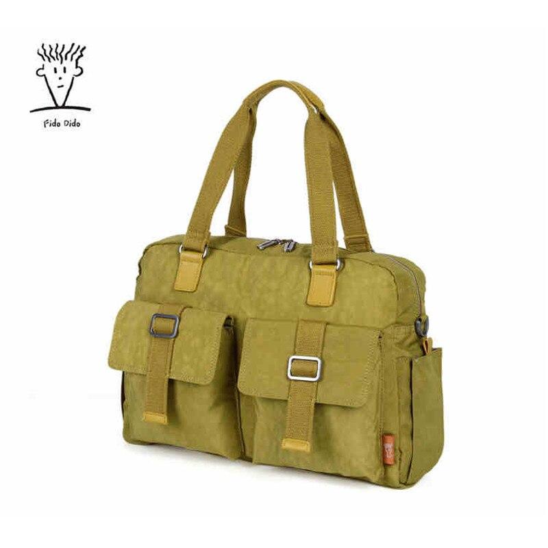 Fido Dido Women Shoulder Bags Waterproof Nylon Lady Sling Messenger Bag Female Crossbody Bags For Women Handbag!! fido