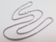 New Fine Pure Au750 White Gold Women 1.4mm W Wheat Chain Necklace
