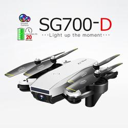 VOODOL SG700-D Mini WiFi FPV RC Drone 720P/1080P HD Wide Angle Camera Foldable Arm RC Quadcopter High Hold Mode Helicopter new