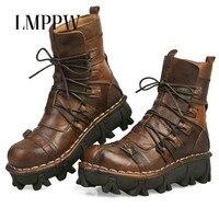 Элитный бренд из натуральной кожи Армейские сапоги Для мужчин Армейские ботинки в армейском стиле рабочая обувь Высокое качество Desert армей