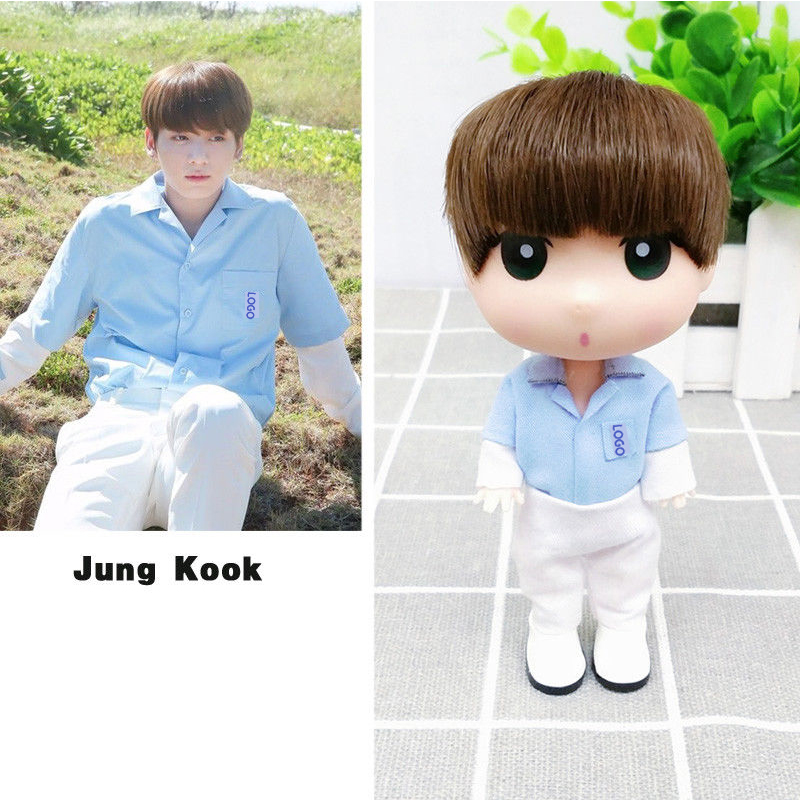 SGDOLL KPOP Love Yourself JungKook 13 cm/5inch Figure Model Toy Fans Gift Doll Action Collection For Girls Boys 2019 New Fashion