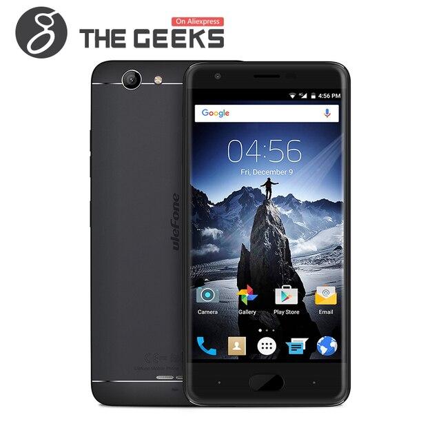 Original Ulefone U008 PRO Mobile Phone MTK6737 1.3GHz 2GB RAM+16GB ROM Quad Core 5.0 Inch HD Screen Android 6.0 4G Smartphone