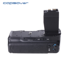 Capsaver Aperto Da Bateria Vertical para o Canon T2i T3i T4i T5i EOS 550D 600D 650D 700D DSLR Camera Substituição de Trabalho com LP-E8 BG-E8
