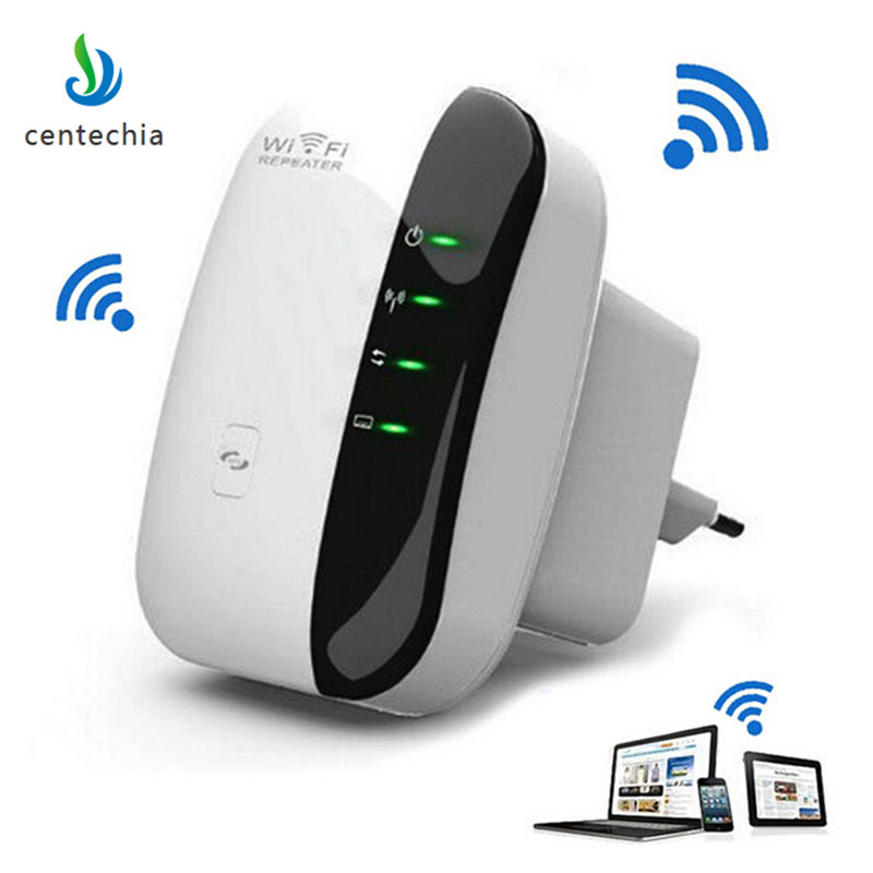 Centechia 2017 New Wireless Wifi Repeater WiFi Routers 300Mbps Range Expander Signal Booster Extender WIFI Ap Wps Encryption Hot comfast wireless indoor ap 1200mbps gigabit ceiling ap 802 11ac wifi signal booster wifi expander wi fi routers rj45 poe adapter