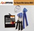Alta calidad 100% nuevo para xiaomi mi4c bm35 3000 mah de la batería back-up batería para xiaomi mi4c mi 4c batería del smartphone en stock