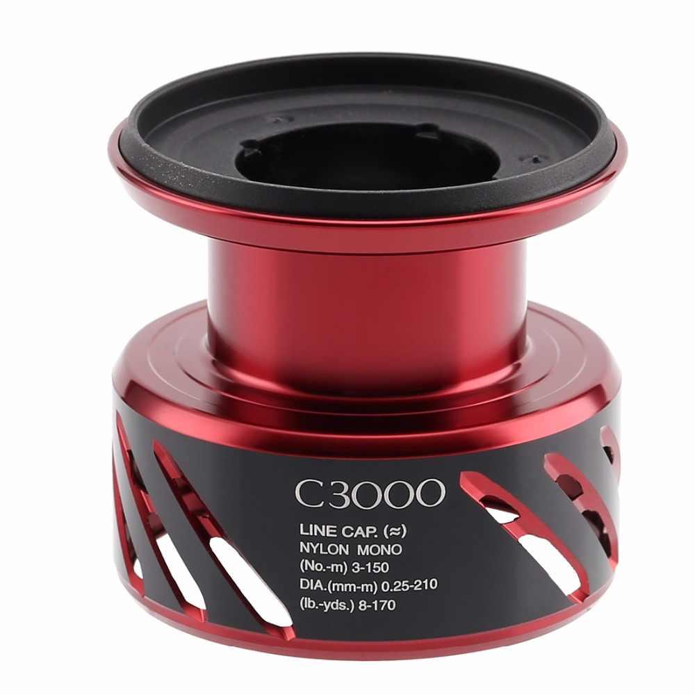 Originele Shimano Stradic CI4 2000S 2500S C3000 C3000M 4000 Spare Spool Diy Spinning Vissen Reel Licht Gewicht Vissen visgerei