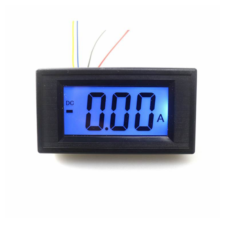 Three semi-LCD <font><b>DC</b></font> digital ammeter <font><b>DC</b></font> 0~ +/-<font><b>100A</b></font> test positive and negative current meter strong anti-jamming capability image