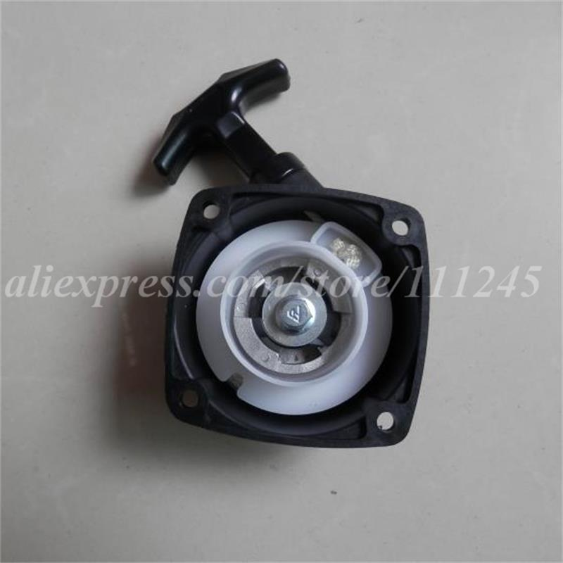 RECOIL STARTER ASSEMBLY  FOR KOREA RCMK ZENOAH CHUNGYANG F-273 26CC RC MARINE POWER RACING BOAT 27CC R/C  PULL START ASSY aluminum water cool flange fits 26 29cc qj zenoah rcmk cy gas engine for rc boat