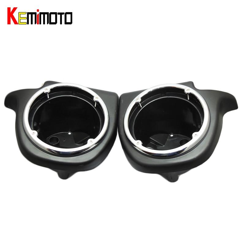 KEMiMOTO Lower Vented Leg Fairing 6.5