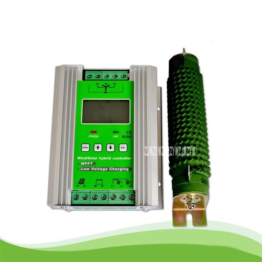 JW-MPPT2480 Haute-fin Type MPPT Solaire Module Vent Et Solaire Hybride Contrôleur de Charge 800 w Vent + 600 w 50A Solaire 12/24 v Vente Chaude