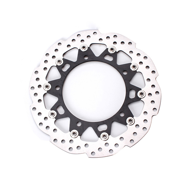 FXCNC Motorcycle Brake Disc 300mm Floating Front Brake Disc Disks Rotor For Honda CB190R Motorbike Front Brake Disc Disks Rotor grey two side pockets long sleeves outerwear