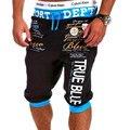 Pantalones Cortos para hombre de la Aptitud 2016 Short Beach Desgaste Elástico de La Cintura de Los Hombres Basculador Pantalones Cortos de Marca Pantalones Cortos Pantalones de ropa de Abrigo