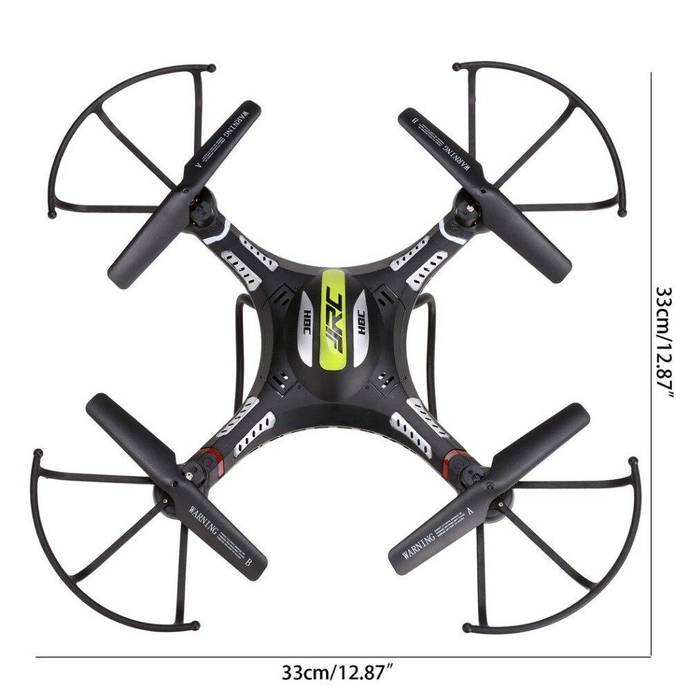 JJRC H8C Fotografia Aerea A Distanza Elicottero di Controllo 2MP HD Della Macchina Fotografica 6 Axis Gyro 360 Gradi Roll over HA CONDOTTO LA Luce drone - 2