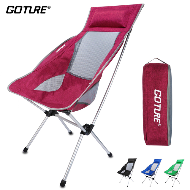 fishing chair lightweight patio pub table and chairs goture folding max load 150kg super with carrying bag for camping picnic beach party