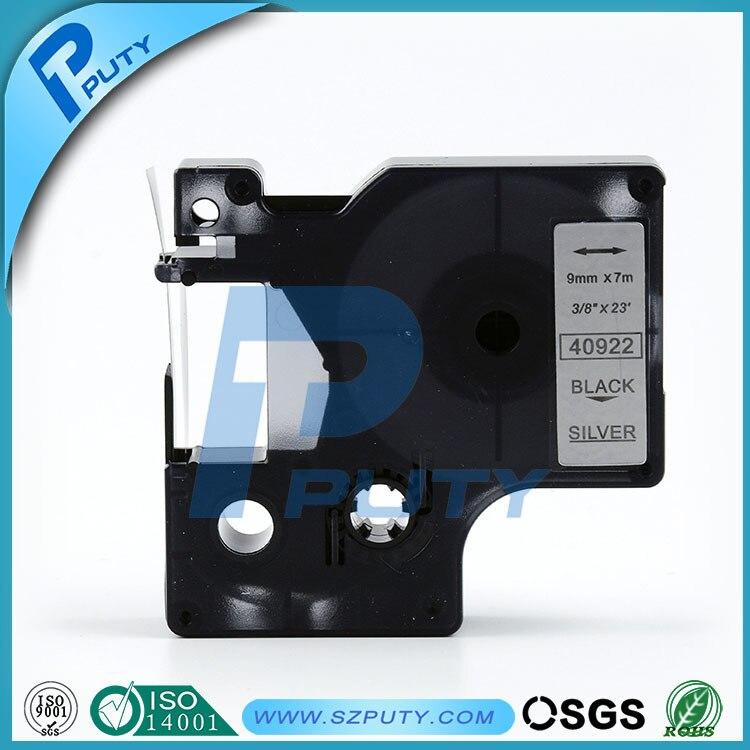1-36 x D1 low temp tape L45013 black//white 12mm x 4m for DYMO label printers