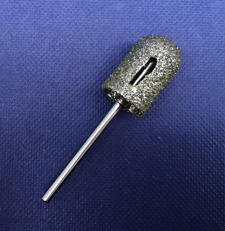 Yeni 10 * 16mm isti 1pcs qaba ənənəvi cilalama manikür pedikür - Dırnaq sənəti - Fotoqrafiya 1