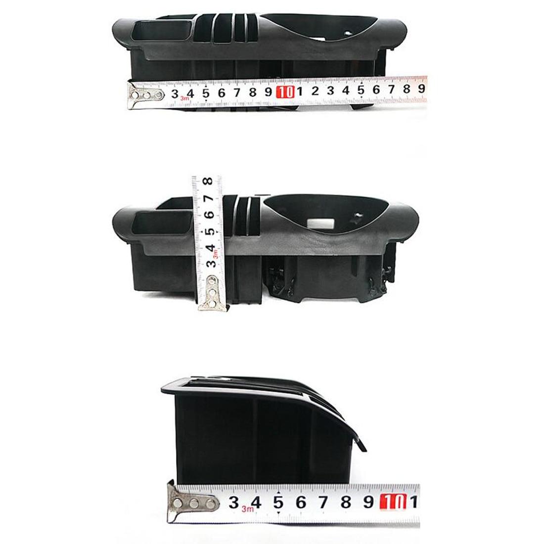 Dewtreetali Car Accessories Car Central Storage Box Cup Holder For Mercedes Benz C class W205/GLC Class X253/E class W213 e200 автомобильный коврик seintex 86286 для mercedes c class w205