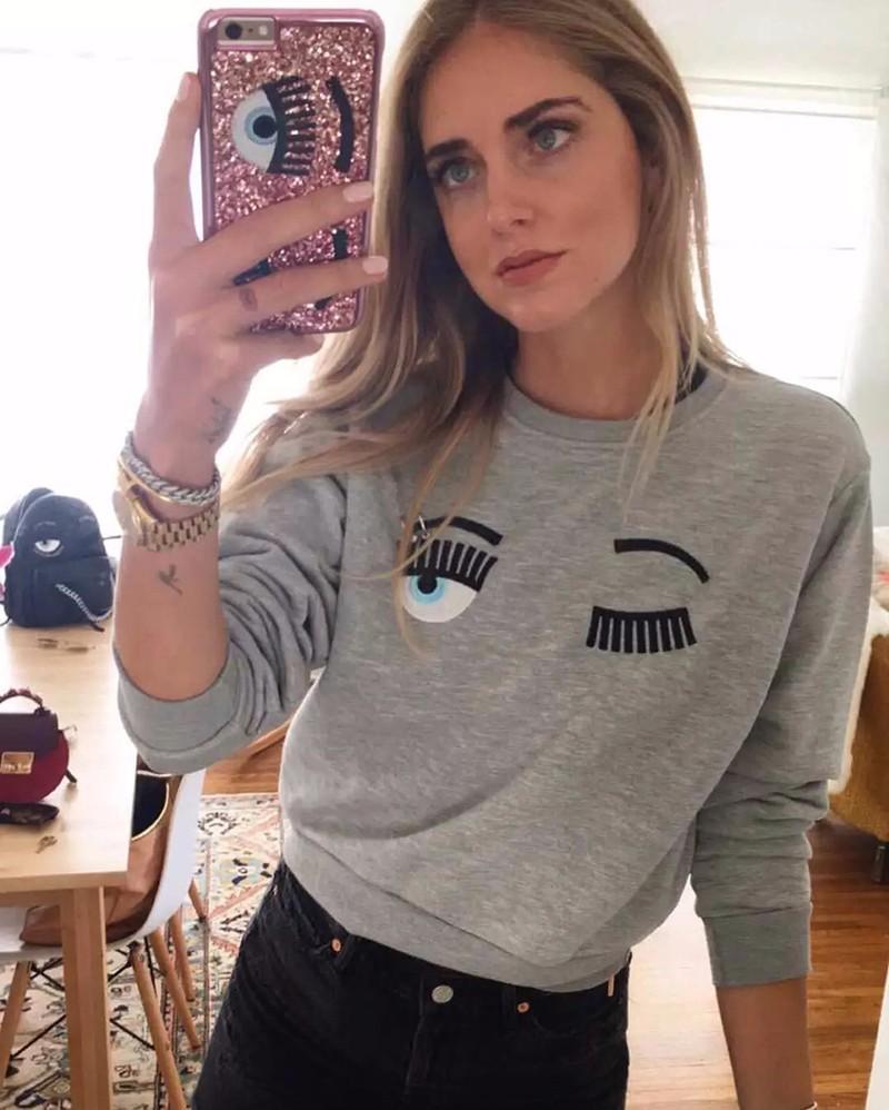 HTB1ExNKOpXXXXc5XpXXq6xXFXXXx - Eyebrow Embroidery Sweatshirt Women PTC 86