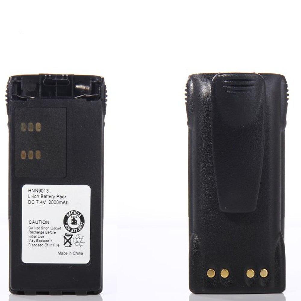 E-outstanding Belt Clip 2PCS Black Belt Clip for Motorola HT750 HT1225 HT1550 GP320 GP338 GP340 GP380 GP640 GP1280 MTX850 MTX850LS