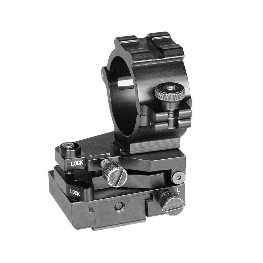 Laserspeed Tactical Rail Mount For Hunting 25.4mm/1 Inch Adjustable AK47 AR15 Accessories Weaver Picatinny Scope Rings