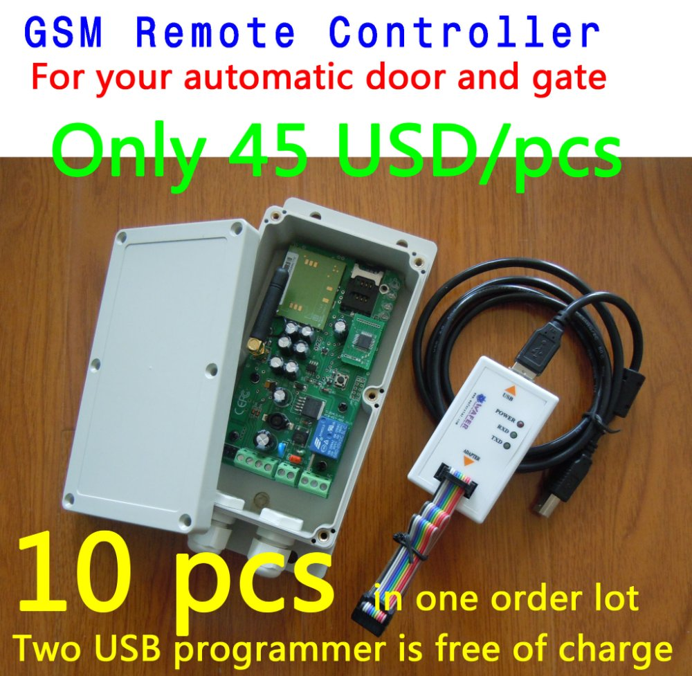 Gsm remote control box for automatic door sliding gate