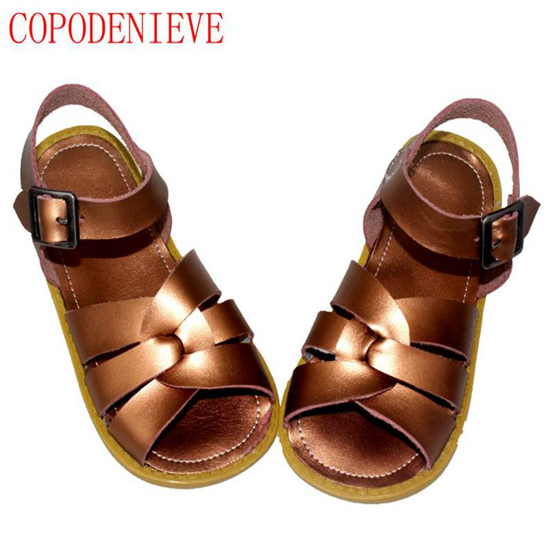 COPODENIEVE Kids shoes boys style sandals baby shoes casual sandals anti-slip hollow air sport children sandals boys sandals