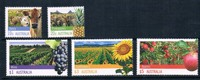 K0896 Australia 2012 Agriculture And Animal Husbandry Products Grapes Cattle Sunflower Stamp 5 New 0613