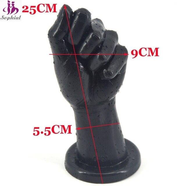 6e2a2d533 Huge Dildo Simulation Female Adult Woman Sex Toy Interest Sex Products  Black Super Long man fist