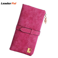 New Fashion Men Wallets Famous Brand Genuine Leather Wallet Casual Male Card Holder Original Design Purses