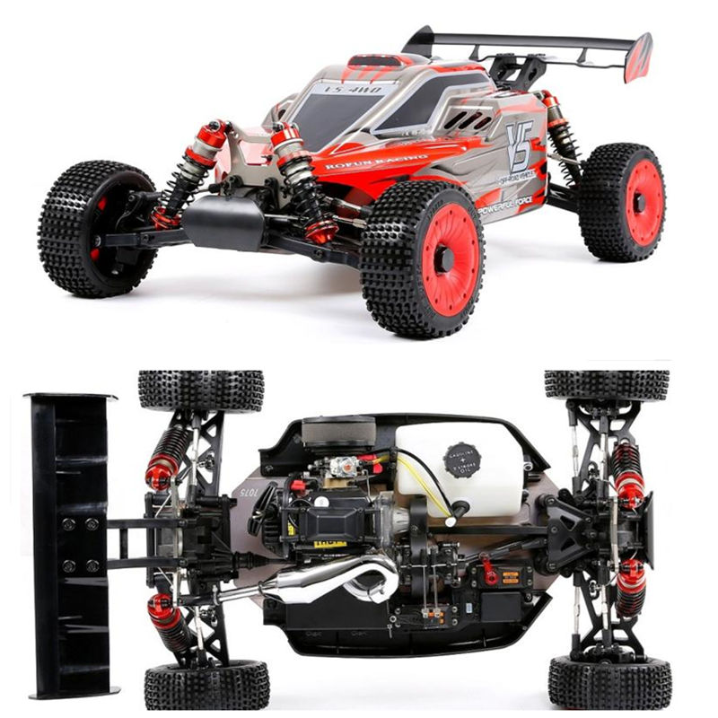 Rovan Rofun 1/5 Baja 5B V5 32CC Gasoline Engine with Two 55KG Servo RC 4WD Truck Off Road Race Off-road VehiclesRovan Rofun 1/5 Baja 5B V5 32CC Gasoline Engine with Two 55KG Servo RC 4WD Truck Off Road Race Off-road Vehicles