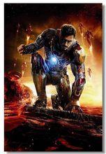 Iron Man 3 Science Fiction Movie Art Silk Poster Print Home Wall Decor