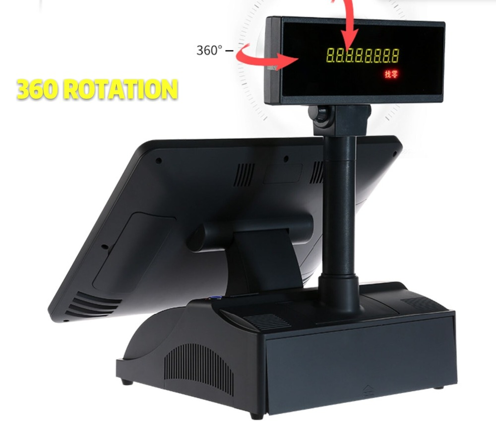 15 Inch Bezel Free POS Terminal System PC From China POS System Suppliers
