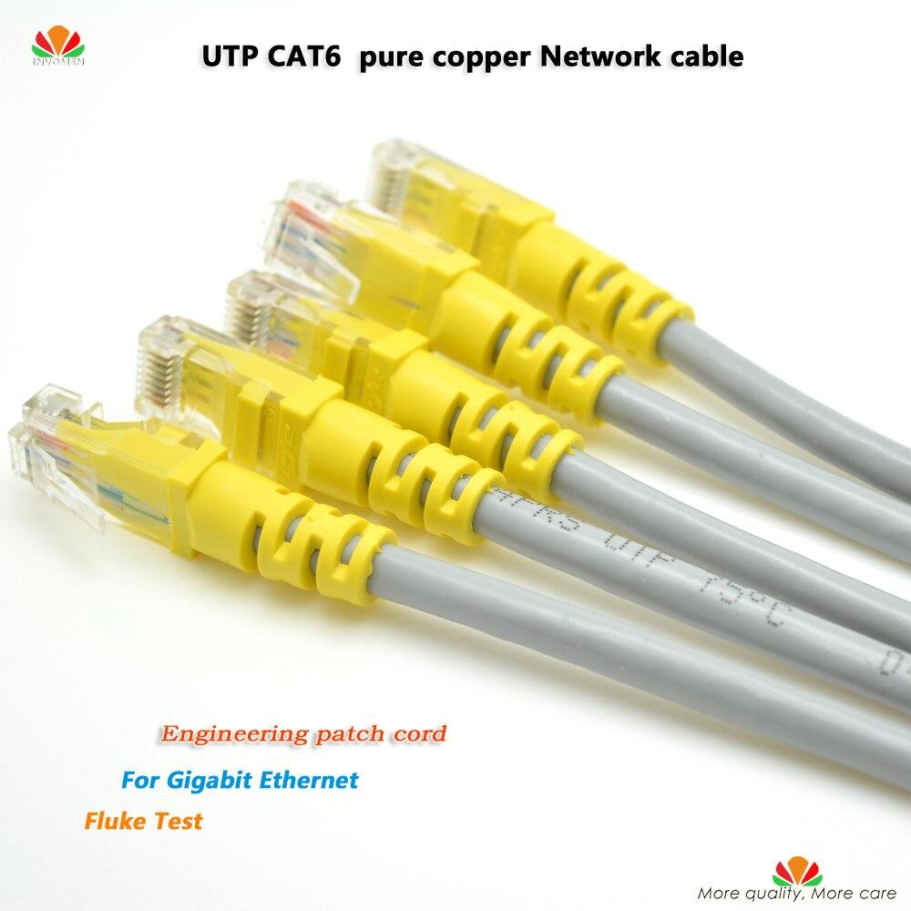 50 ชิ้น/ล็อต 0.25 m UTP CAT6 สาย RJ45 เครือข่ายทองแดงบริสุทธิ์ twisted คู่แผง Patch Patch สาย Lan gigabit Ethernet-ใน สายเคเบิลคอมพิวเตอร์และขั้วต่อ จาก คอมพิวเตอร์และออฟฟิศ บน AliExpress - 11.11_สิบเอ็ด สิบเอ็ดวันคนโสด 1