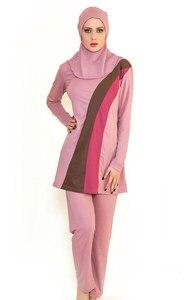 Image 2 - בגדים אסלאמיים בגדי ים ים אסלאמי בגדי ים מוסלמיים נשים סגנון חדש 3 צבע
