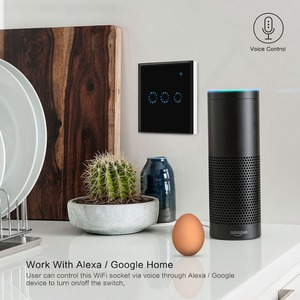 Image 3 - Wifi Touch Switch 1/2/3 Gang Samrt Switch Panel Wireless Intelligence Timing&Remote Control APP Work with Alexa Google Home