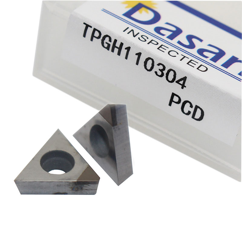 2PC TBGT060104 TPGH080202 TPGH090204 TPGH090208 TPGH110304  PCD CBN Lathe Turning Insert Polycrystaline Diamonds Cutter Tool