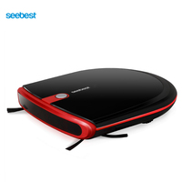 Seebest E630 MOMO 4.0 Auto Recharge Super Slim Robot Vacuum Cleaner 6.3cm Height with 2 Side Brush and, Russia Warehouse