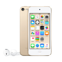 Apple iPod touch 128GB, MP3 player, 128 GB, Lightning, Built in camera, Gold, Headphones included