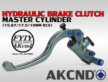 akcnd Universal motorbike PX1 motorcycle brake clutch pump master cylinder lever handle For Yamaha smax aerox nmax155 handa PCX