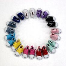 5cm Fashion Denim Sneakers Doll Shoes  For Russian Handmade Doll ,Denim Canvas Mini Toy Shoes For 1/6  BJD Dolls Doll Accessorie 1pair 2pcs 3 5cm fashion plastic doll shoescsuit for blythe licca jb bjd dolls accessory toy parts