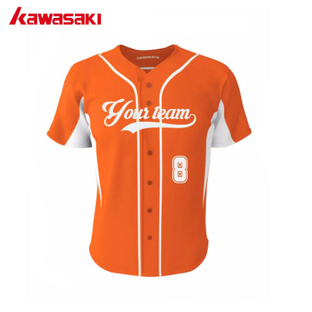 baseball jersey orange