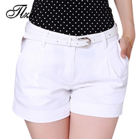 2015 Korea Summer Woman Cotton Shorts Size S 2XL New Fashion Design Lady Casual Short Trousers