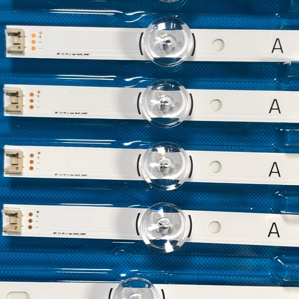 """Image 4 - LED Backlight strip For LG 49LB620V Innotek DRT 3.0 49"""" A B 49LB552 49LB629V 6916L 1788A 6916L 1789A 49LF620V 49UF6430-in LED Bar Lights from Lights & Lighting"""