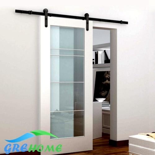 4.9FT/6FT/6.6FT Carbon steel wall mount Black Rustic sliding door fittings & Popular Sliding Door Fitting-Buy Cheap Sliding Door Fitting lots ... Pezcame.Com