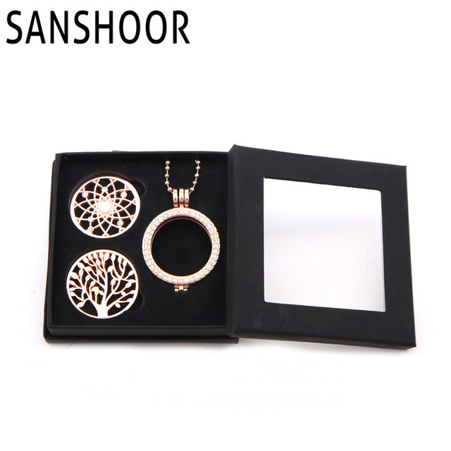 Aliexpresscom Buy Box Set Pendant Necklace With 2pcs Tree Of Life