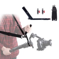 Terminator Hang Strap Mounting Clamp Accessories Compatible with Moza Air 2 Gimbal Making It Like ZHIYUN WEEBILL LAB Crane 3 Set