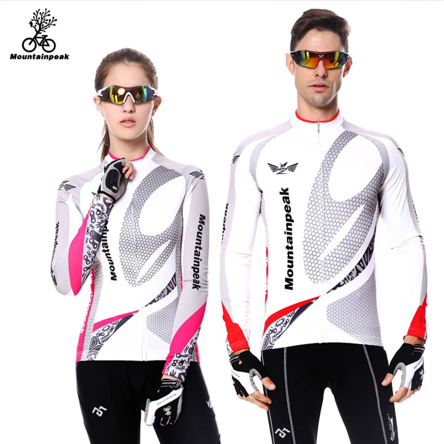 Mountainpeak Quick Dry Breathable Cycling Jersey Long Sleeve Summer Men and W Shirt Bicycle Wear Cycling ClothingsMountainpeak Quick Dry Breathable Cycling Jersey Long Sleeve Summer Men and W Shirt Bicycle Wear Cycling Clothings