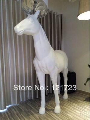 Factory wholesale modern fashion moooi horse animal lamp halfaway factory wholesale modern fashion moooi horse animal lamp halfaway floor lamps project light in floor lamps from lights lighting on aliexpress mozeypictures Gallery