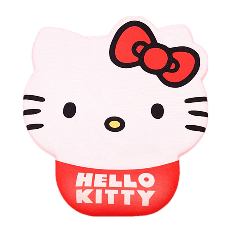 31a44b05c Animation Characters Hello Kitty Cute Hello Kitty Wrist Mat Comfort Mice  Rest Protector Computer Laptop Mouse Pad